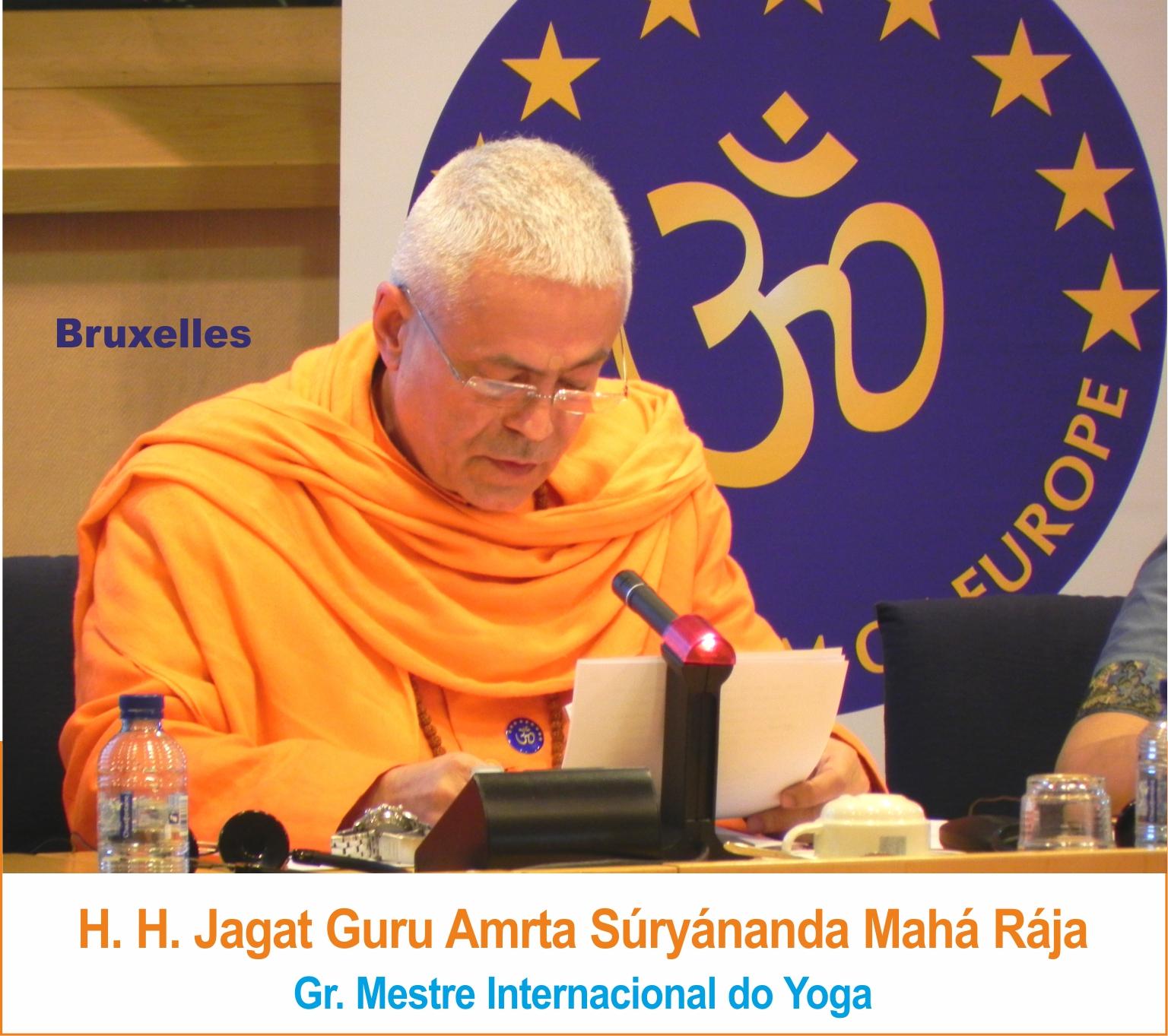 Yoga Guru Amrta Súryánanda Mahá Rája