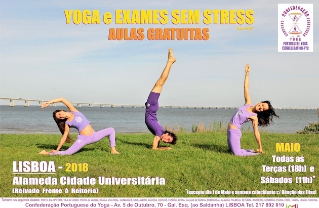 Yoga and stress-free Exams 2018