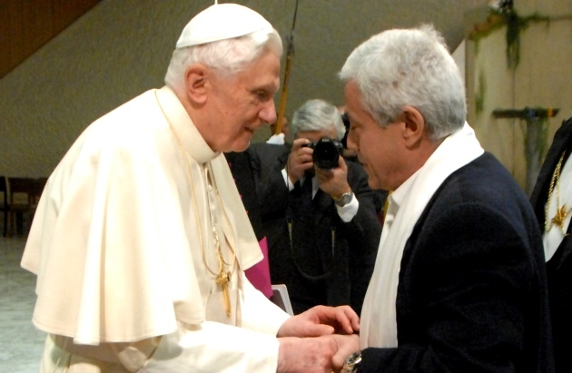 Meeting with Pope Benedict XVI - Roma, Città del Vaticano - 2011, january