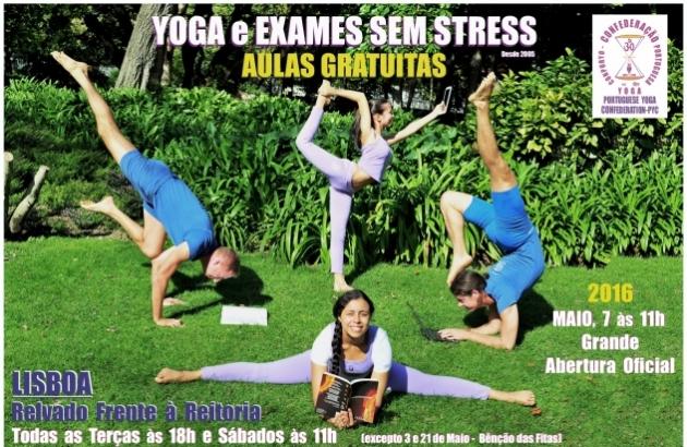 Yoga et Examens sans stress 2016