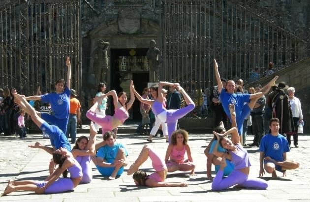 2ème Rencontre Ibérique du Yoga - 2008 - Saint Jacques de Compostelle, Espagne