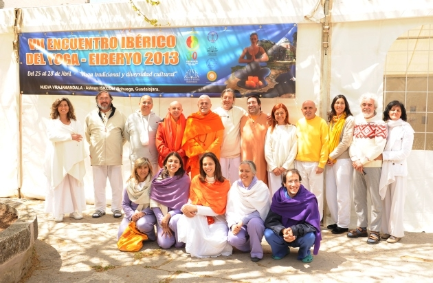 7th Iberian Yoga Meeting - 2013 - Brihuega, Guadalajara, Madrid, Spain