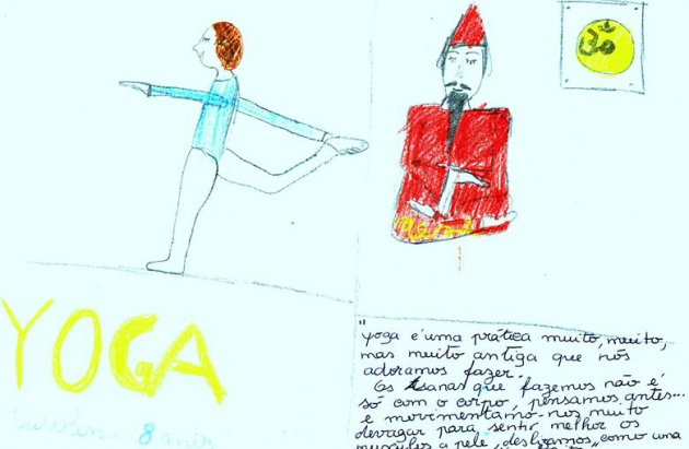 CHILDREN AND TH YOGA SÁMKHYA - CHILDREN'S TESTIMONY ABOUT YOGA