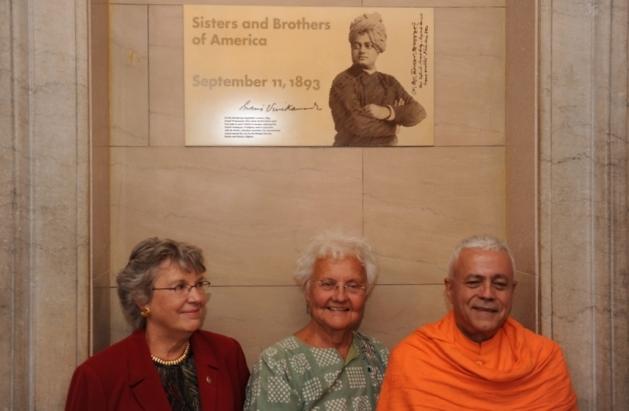 No 1º Parliament of hte World's Religions onde discursou Sv. Vivekánanda em 1893, Setembro, 11