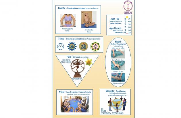 Outras Disciplinas Técnicas Principais do Yoga