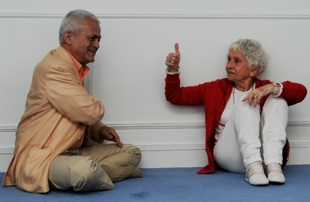Meeting with Master Eva Ruchpaul - Paris - 2011, May