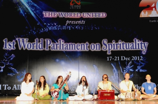 First World Parliament on Spirituality - India, Hyderabad - 2012, diciembre