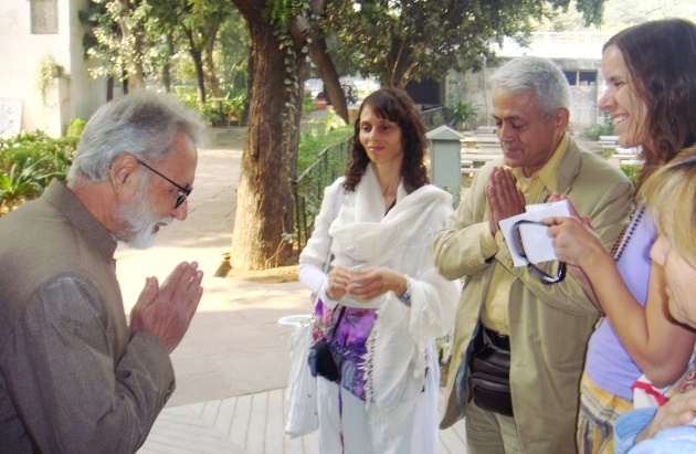 Meeting with Dr. Ramesh Bijlani - Shrí Aurobindo Áshrama, New Dillí, India - 2010, January