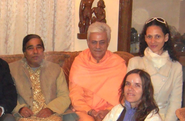 Meeting with Dr. Gopalji - Dillí, India - 2010, January