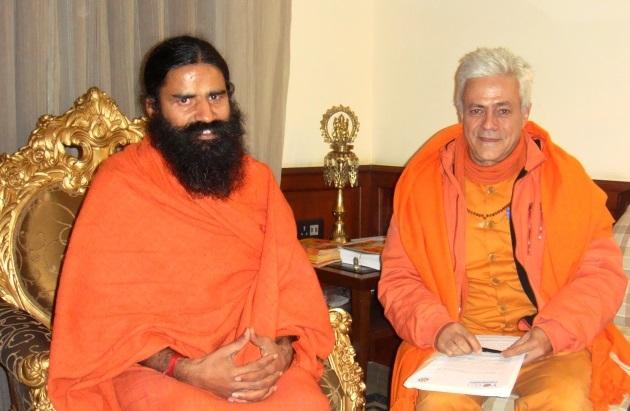 Encontro com Baba Ramdev, Patañjali Yogapeeth, Haridvar, Índia - 2010, Janeiro