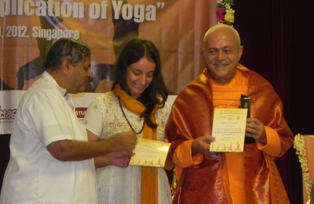 2012 International Yoga Conference, Therapeutic Application of Yoga Singapura - 2012, octubre