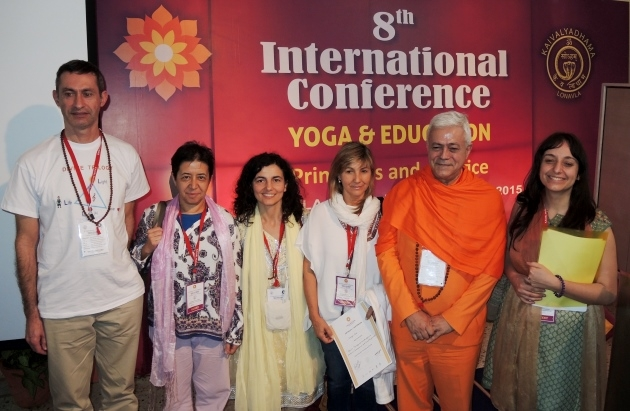 8th International Conference, Yoga & Education, Principles and Practice - Keivalyadhama Yoga Institute Lonavala, India - 2015, diciembre