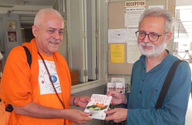 Encontro com Dr. Ramesh Bijlani - Shrí Aurobindo Áshrama, New Dillí, Índia - 2012, Outubro