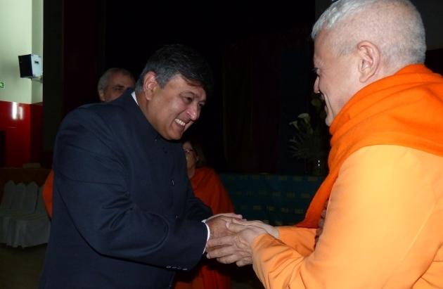 Rencontre avec Son Excellence Sunil Lal, Ambassadeur de l'Inde en Espagne - Madrid - 2013, juin