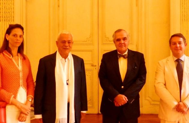 Reuniões com os Sr. Embaixadores de Portugal na UNESCO, Paris