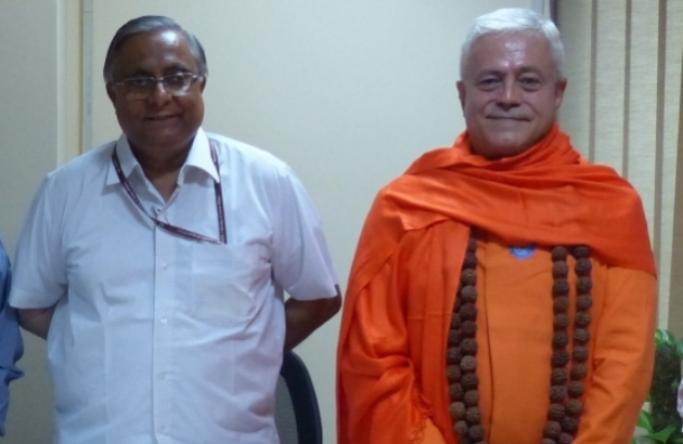 Meeting with the Secretary of AYUSH Department - Shrí Nilanjan Sanyal - India, Dillí - 2014, October, 10th