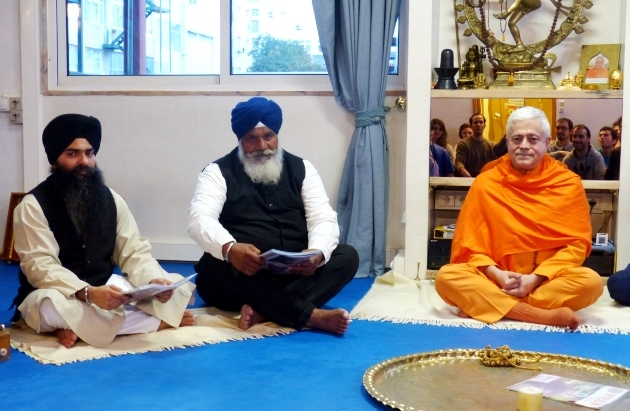 Visit of the President of the Sikh Community in Portugal  at the Headquarters of the Portuguese Yoga Confederation, Lisboa - 2015