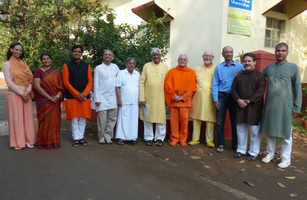 Reunião do COUNCIL for YOGA ACCREDITATION - INTERNATIONAL, Keivalyadhama Yoga Institute, Lonavala, Índia - 2015, Março, 14 e 15