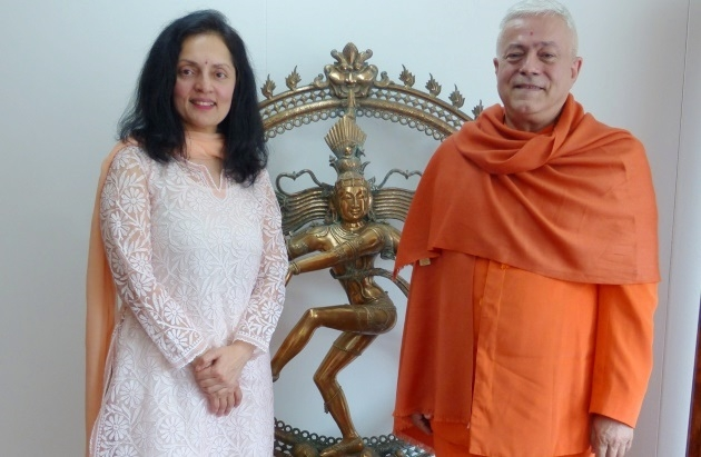 Meeting with H.E. the Ambassador of India to UNESCO, Ms. Ruchira Kamboj – Paris – 2015, May, 13