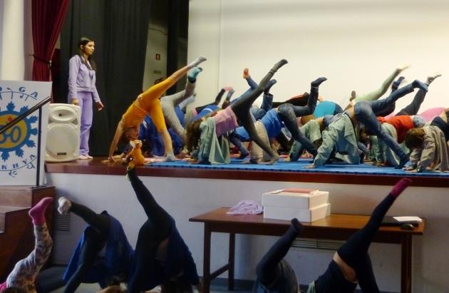 Yoga para Abuelos y Nietos