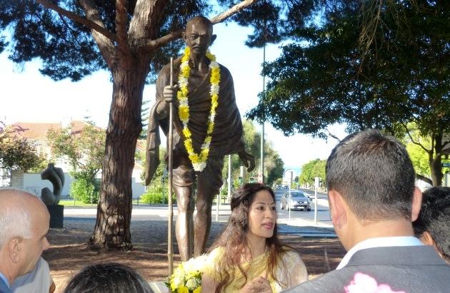 Aniversario de Nascimiento de Gandhi Jí - 2016, octubre, 2 - Organización: Embajada de India