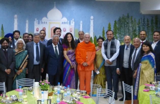 Encontro com a Delegação do Indian Parlamentary Goodwill - Templo Rádhá Krshna - 2016, Outubro, 17