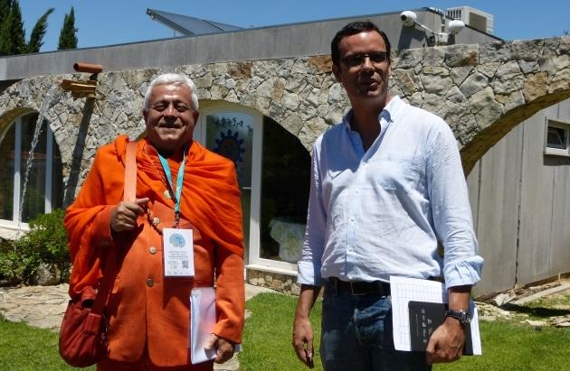 Reunión del Alto Comisariado para las Migraciones - Ás. Shánti Deva - Quinta do Anjo - 2017, julio, 3