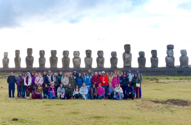 ENMUNDY 2017 - World Yoga Meeting  - RAPA NUI - EASTER ISLAND