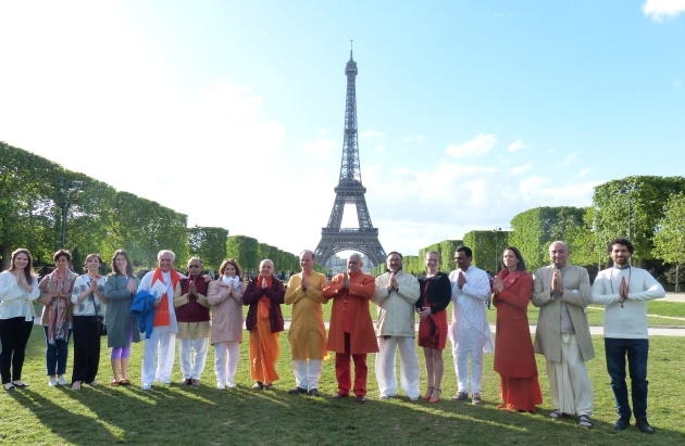3º Congreso Europeo del Yoga - 2018, UNESCO, Paris, France