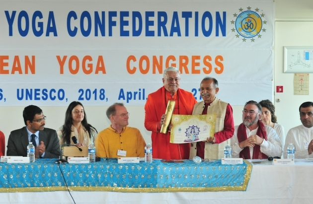 Attribution of the Title of Grand International Yoga Master and Keilasha award