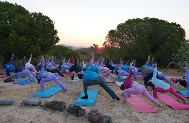 Yoga Intensive Week - 2015 - Quinta da Calma, Algarve