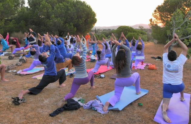 Intensive Yoga Week - 2013 - Quinta da Calma, Algarve