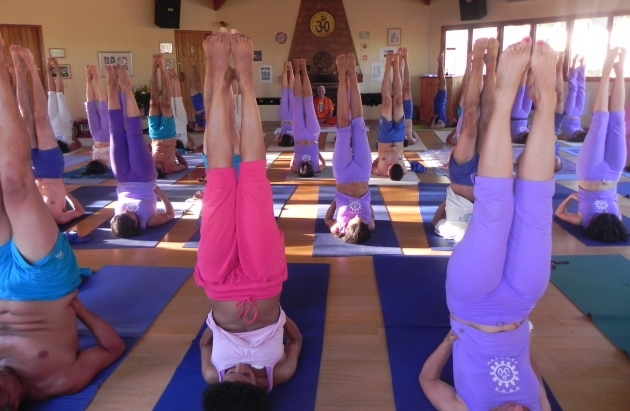 Intensive Week of Yoga - 2012 - Quinta da Calma, Algarve
