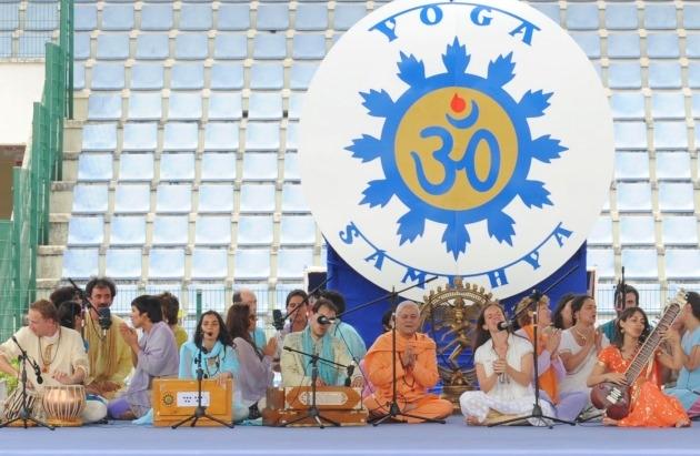 Apresentações no Dia Internacional do Yoga