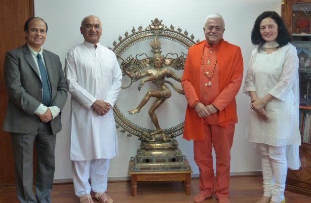 Reunião com S.E. Embaixadora da Índia na UNESCO, Smt. Ruchira Kamboj – Paris – 2016, Dezembro, 9
