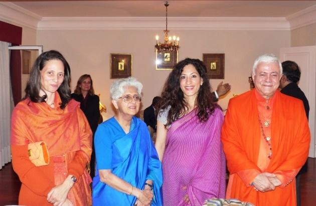 Encontro com a Embaixadora da Índia em Portugal Mrs. K. Nandini Singla e com a Secretária do Ministério dos Negócios Estrangeiros da Índia Ms. Sujata Mehta - Belém, 2016, Dez., 12
