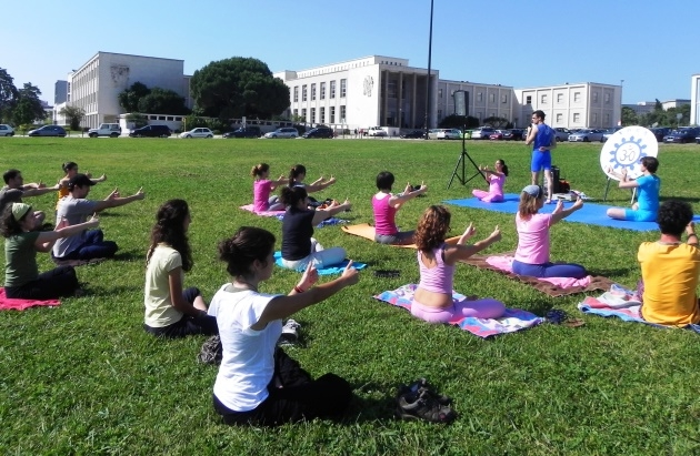 Yoga and stress-free Exams 2011