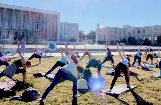 Yoga e Exames sem stress 2019