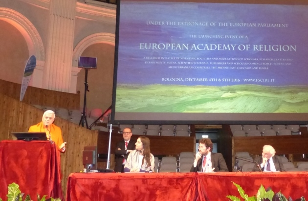 European Academy of Religion - Italy, Bologna - 2016, December, 4th & 5th