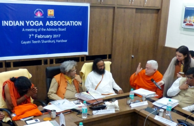 Steering Commitee of the Quality Council of India - for the Certification of Yoga Porfessionals