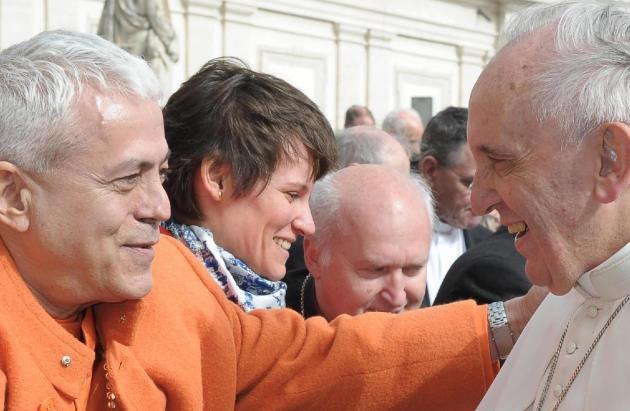 Encontro com o Papa Franciscus - Roma, Città del Vaticano - 2014, Fevereiro