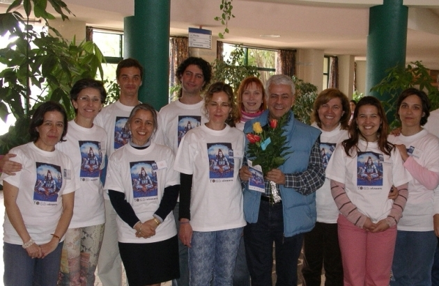 Encontro Nacional do Yoga - Peniche - 2002, Abril, 12 a 14