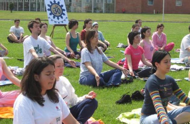 Yoga e Exames sem stress 2007