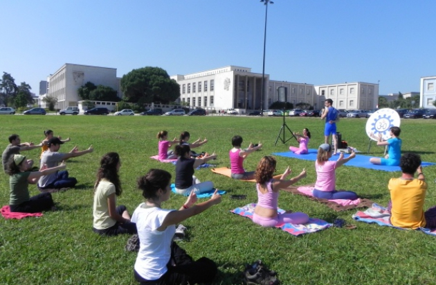 YOGA AND STRESS FREE EXAMS 2011