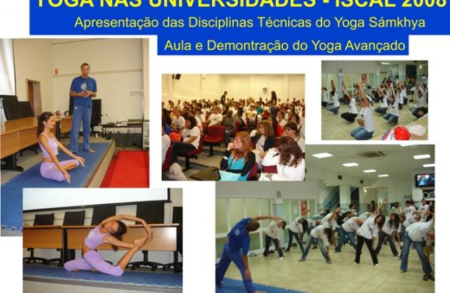 Apresentação das Disciplinas Técnicas do Yoga Sámkhya - ISCAL 2008