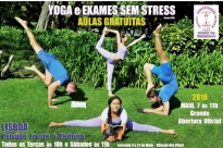 Yoga and stress-free Exams