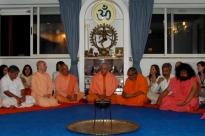 Recepción de los Maestros invitados al Día Internacional del Yoga