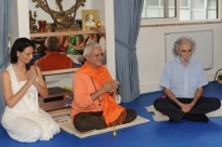 Visit of Ramiro Calle at the Headquarters of the Portuguese Yoga Confederation, Lisboa - 2011