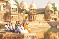 Yátrá aos Locais de Lord Krshna, Índia - 2011, Abril