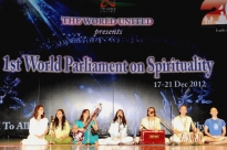 First World Parliament on Spirituality - Índia, Hyderabad - 2012, Dezembro